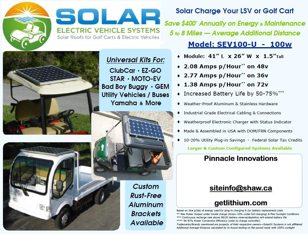 Solar Ev Helios Solar Power Sev 100 U Solar Panel Kit