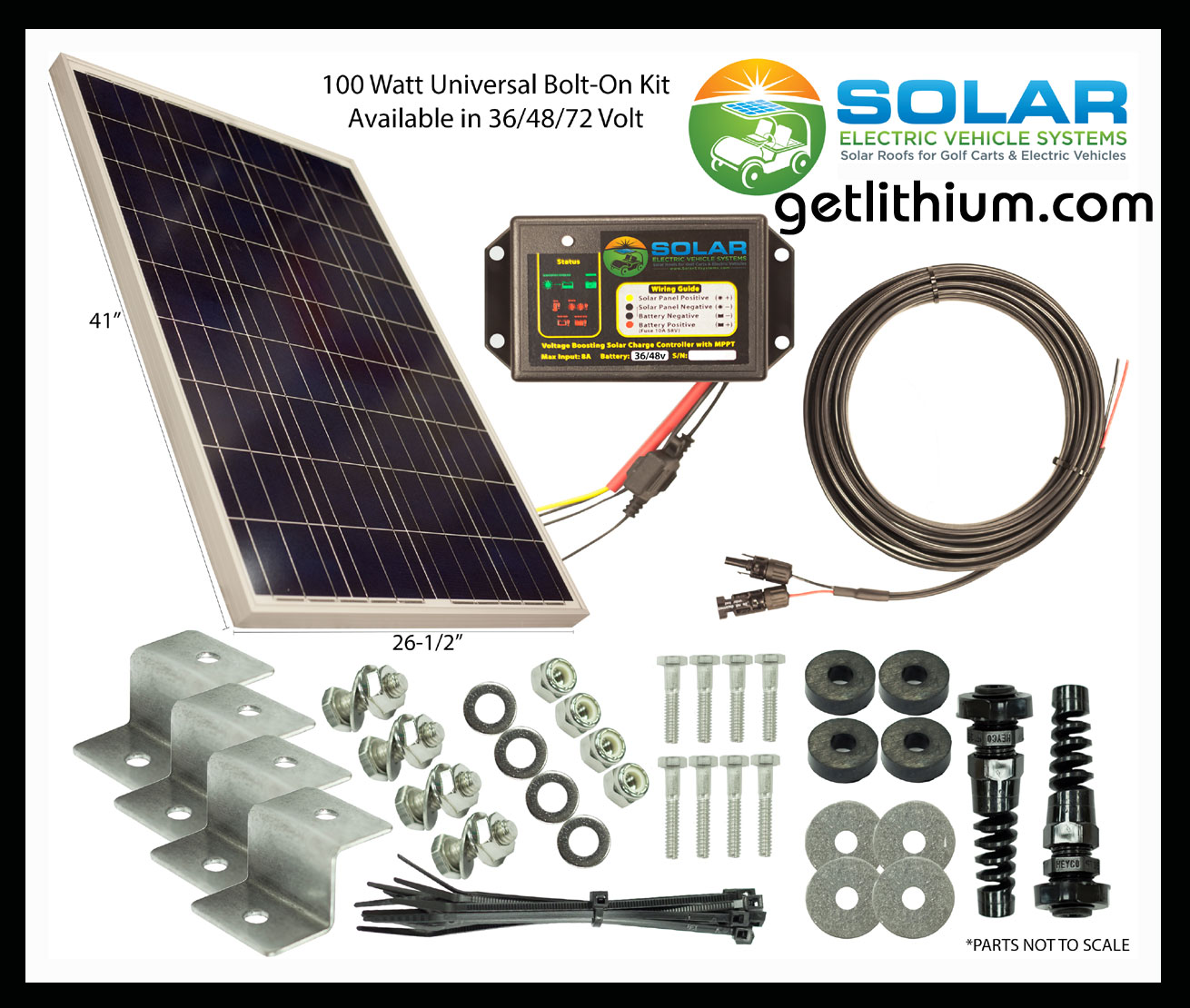 Solar Ev Helios Solar Power Sev 100 U Solar Panel Kit