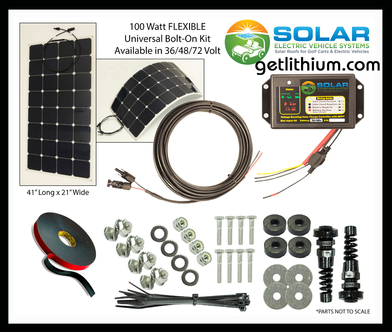Solar Ev Helios Solar Power Sev 100 Flex Flexible Solar