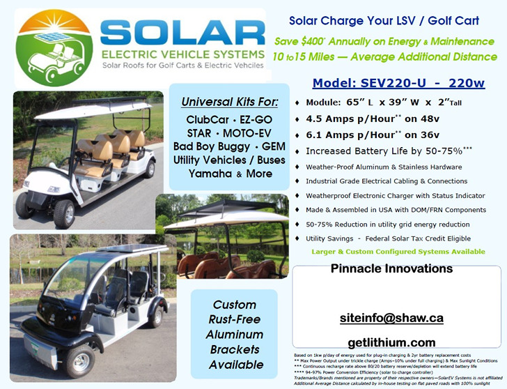 Rv  Marine And Electric Golf Cart Solar Power Page  Go