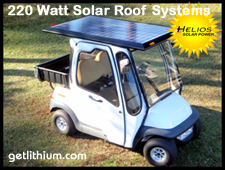 Click here to visit the Solar EV Helios Solar Power page with universal rigid and felxible bolt on solar panel kits complete with solar panels, MPPT solar charge controllers, wiring and mounting hardware...