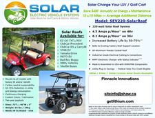 Click here for more information on this mobile LSV/ RV solar panel system