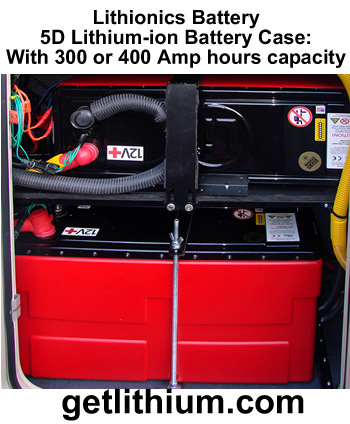 deep cycle and engine starting lithium-ion battery: light weight, super safe, powerful and compact lithium ion battery