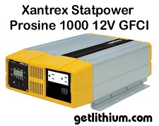 Click here for a larger Xantrex inverter image