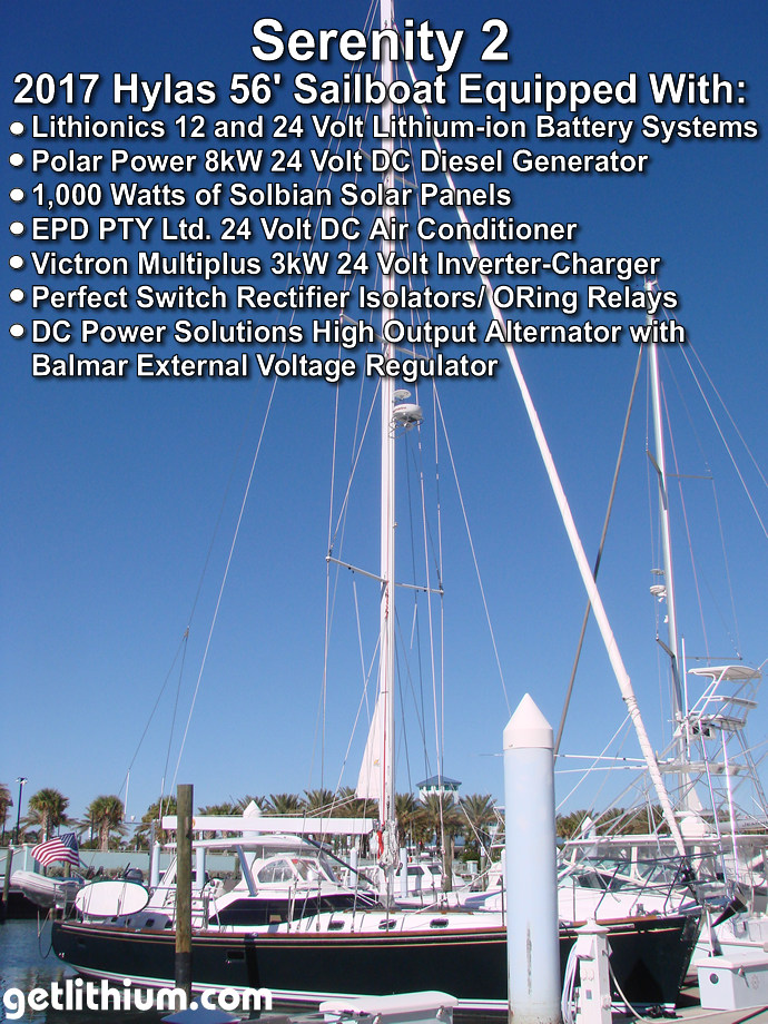 Lithionics Lithium Ion Batteries Photo Gallery for Yachting ...