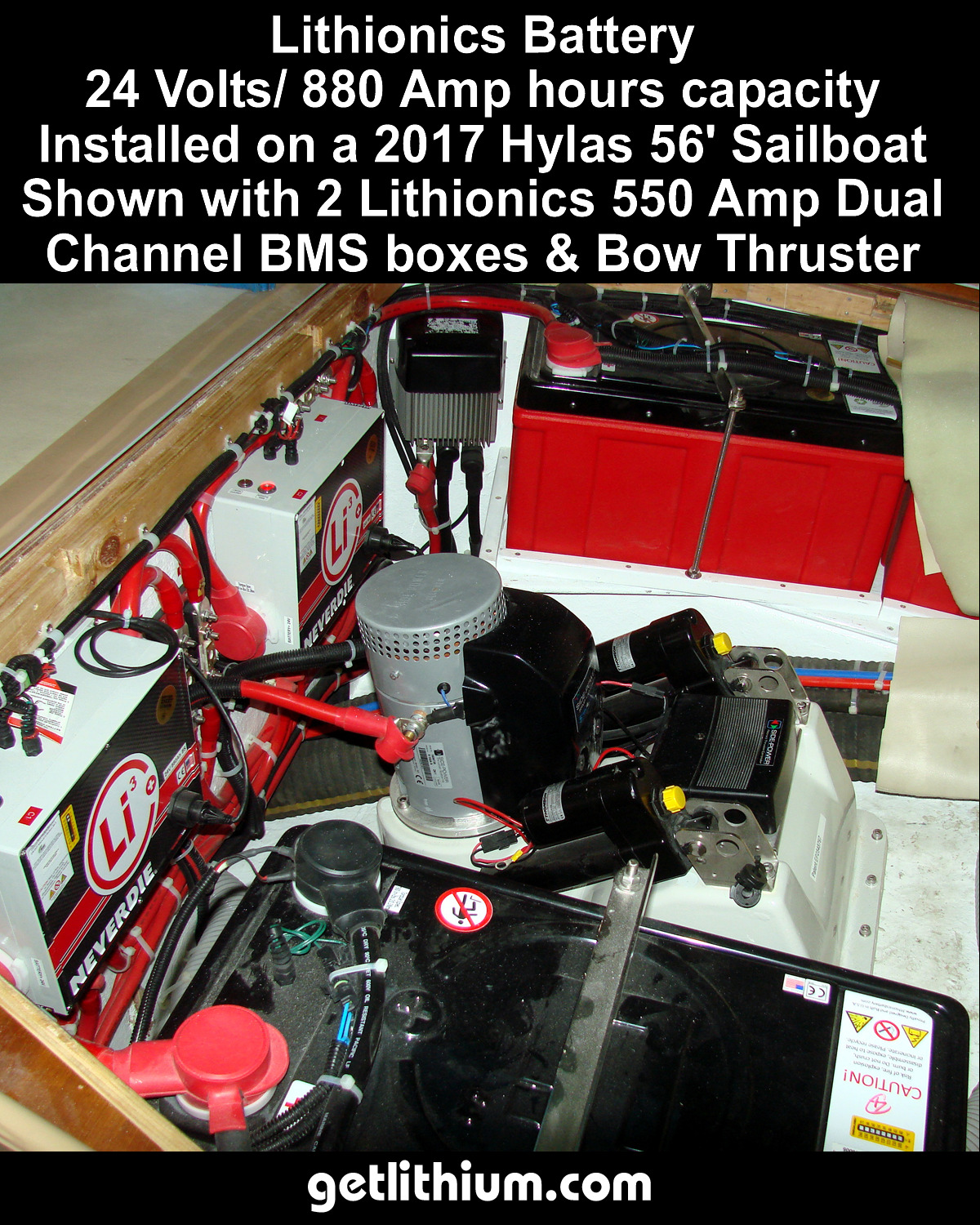 Contact 778 340 0060 For Sales And Information About Multiple Battery Isolator Wiring Diagram Lithionics Lithium Ion System Bms Installed On A 2017 Hylas 56 Sailboat