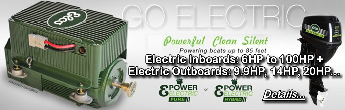 Elco Electric Yachts: Powerful electric Marine Motor Conversion Systems