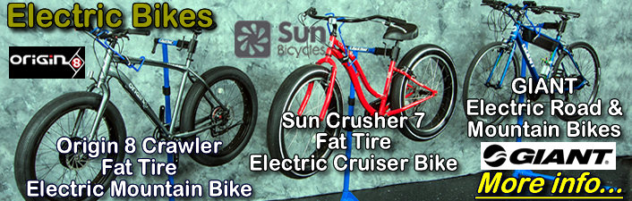 Electric Assist Bicycles by Prodecotech, Origin 8, Giant and Sun Bicycles...