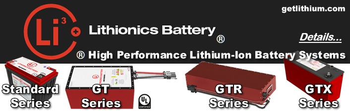 Lithionics Lithium-ion Batteries: Powerful, Lightweight Deep Cycle & Engine Starting Batteries